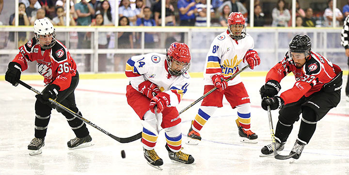 PH ice hockey team vying for Malaysia SEA Games