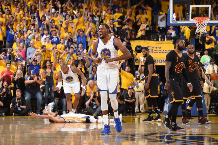 Warriors NBA champ with Game 5 win over Cavs