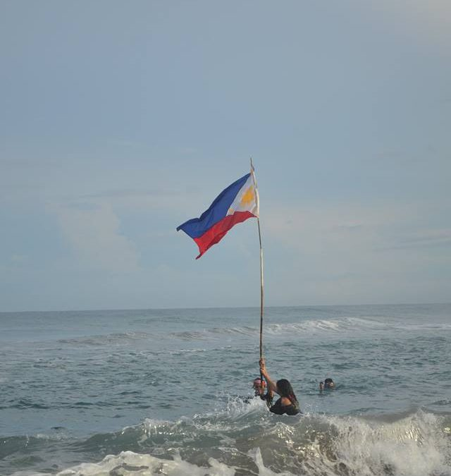 Artist-Activists plant PH flag in West Philippine Sea