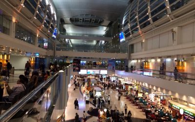Dubai airport installing face scanners