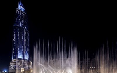 Burj Khalifa, Dubai Fountain favorites of tourists in UAE