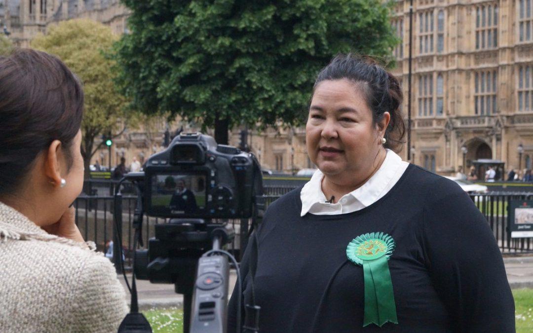 Filipina running for UK parliament seat
