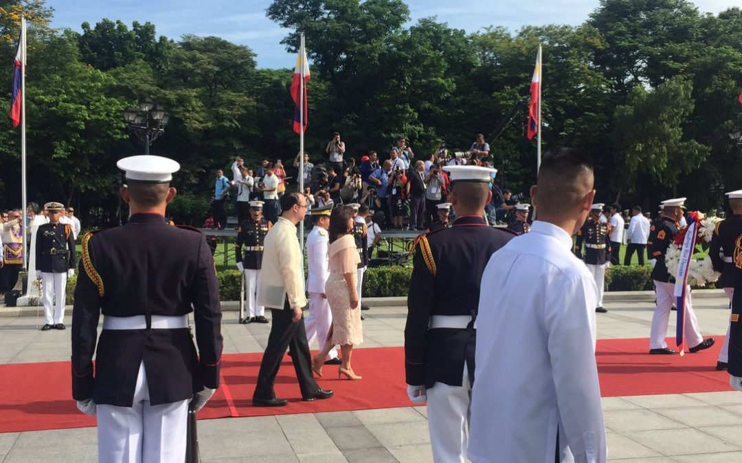 Tired Duterte misses Luneta Independence Day rites