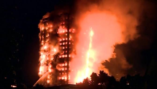 London tower fire claims 6 lives