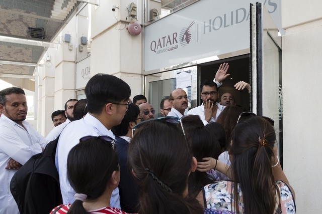 Qataris in limbo as UAE adds transit ban