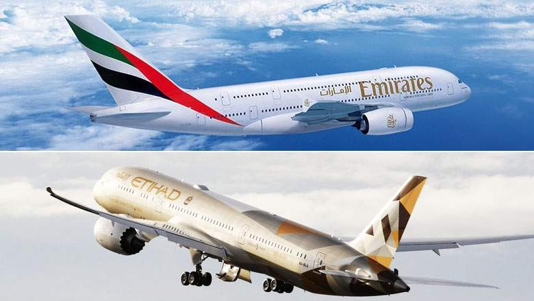 Emirates, Etihad in world's 10 best airlines for 2017 list