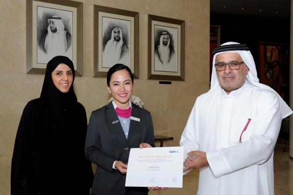 Three graduate from 'Dubai Way' training