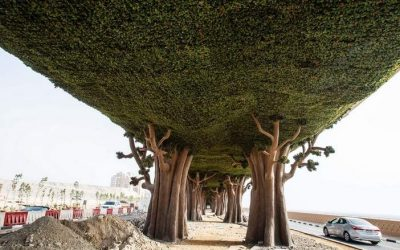 Dubai flyover to have 'trees' as pillars