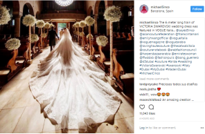 Michael Cinco creates $1M wedding gown for heiress