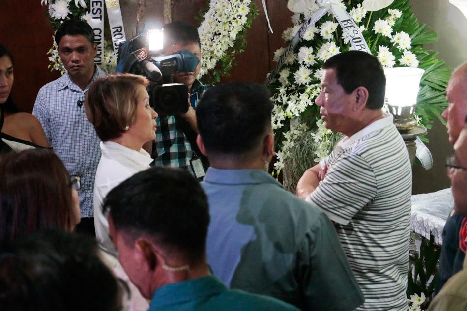 Duterte attends wakes of Resorts World Manila fatalities