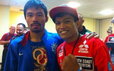 Pinoy TKOs Japanese foe in Australia