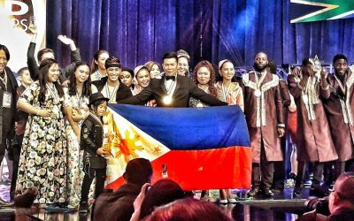Filipino performers rule 'Olympics' of performing arts