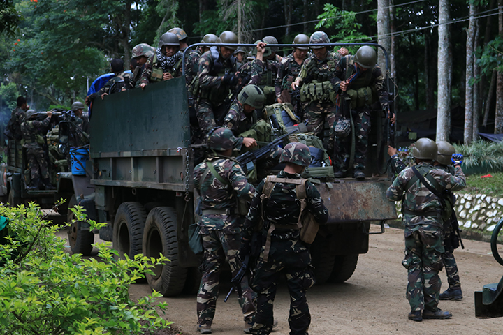525 soldiers to augment forces in Marawi