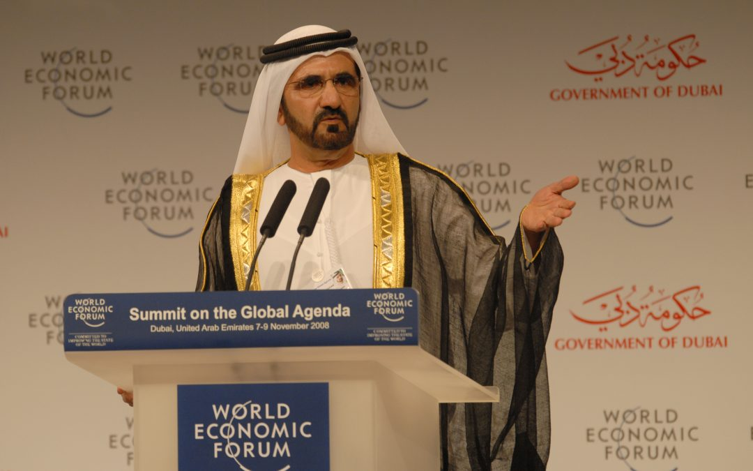 Sheikh Mohammed helps UK village acquire community center
