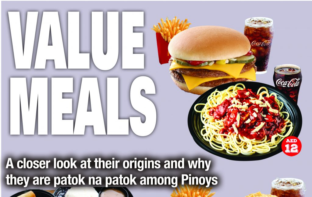Value meals, ba't patok 'to sa Pinoy - The Filipino Times