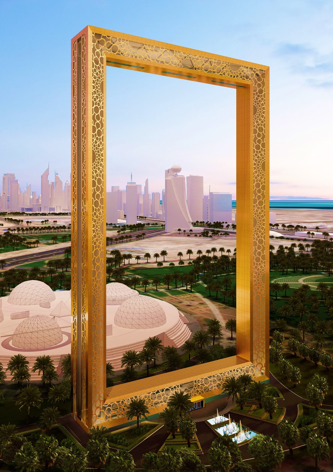 Dubai Frame Is Set To Be Uae S Hottest Attraction This