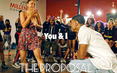 Choreographer stops mid-dance to propose to girlfriend