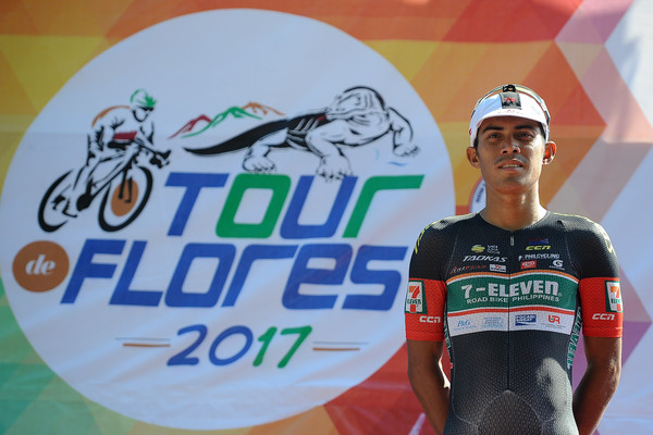 Pinoy cyclist finishes 3rd at Tour de Flores 2017