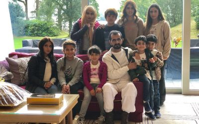 Sheikh Mohammed shares bonding time with his family