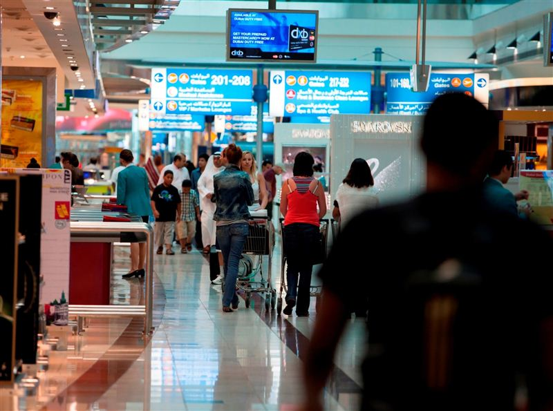 DXB receives record-breaking 8 million passengers in July
