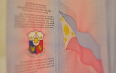 Filipina's passport damaged in Torch fire