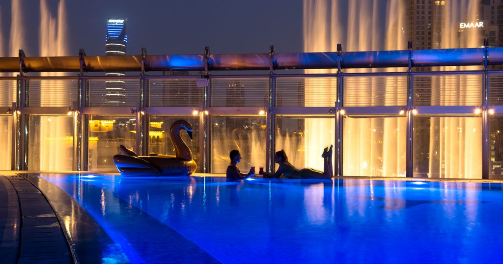 Plunge Into Burj Khalifa S Pool For Only Dh50 The Filipino Times