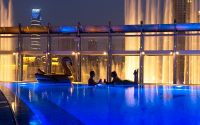 Plunge into Burj Khalifa's pool for only Dh50