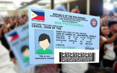 LTO kicks off distribution of 5-year drivers license
