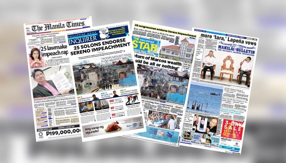 Headlines sa Pilipinas ngayon!