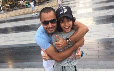 Derek Ramsay's son excels in Dubai school