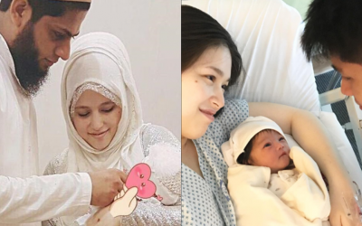 Two lovely grandchildren for Robin Padilla