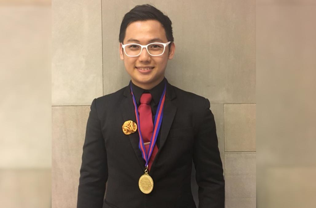 Filipino student beats 200 contestants, wins 2017 Asia's best debater