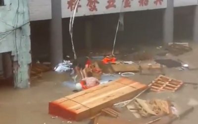 Filipino saves 2 drowning Chinese as storm and heavy flood batter Macau