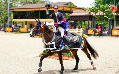 Filipino equestrian nabs 23rd gold for PH at 29th SEA games