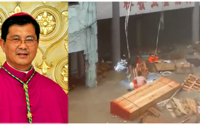 CBCP lauds heroism of OFW in saving 2 Chinese nationals amid storm, flood in Macau