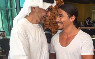 Crown Prince surprises 'Salt Bae'