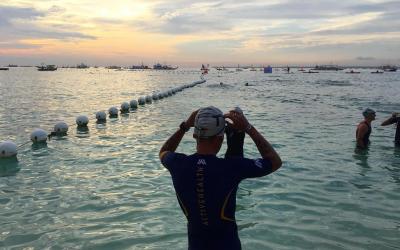 Triathlete dies of heart attack in Cebu Ironman swim leg
