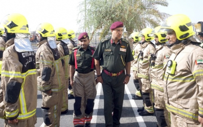 In the line of duty: Dubai's brave firefighters