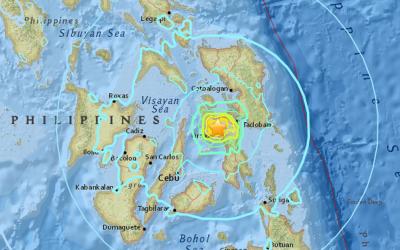 2 dead as 5.1 magnitude earthquake hits Leyte
