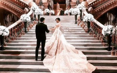 Vicki Belo is #Cincofied during her wedding in Paris