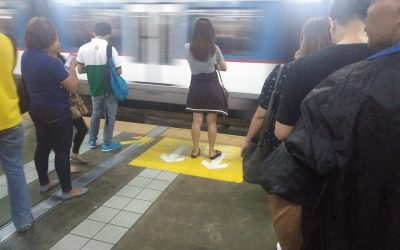 Woman passenger not following MRT rules goes viral