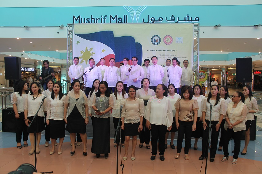 Ladies' group leads celebration of Buwan ng Wika in AUH