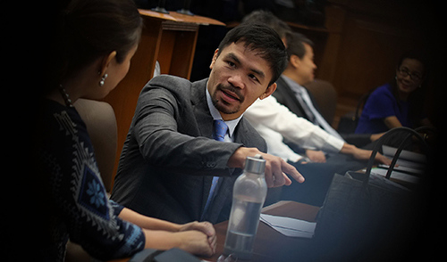 Pacquiao on Horn rematch: 'Im busy with government duties'