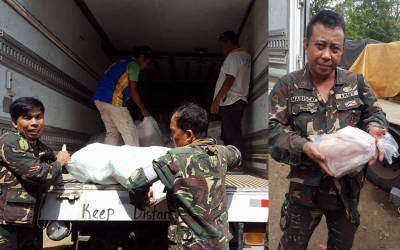 First batch of dressed chicken from Duterte arrives in Marawi