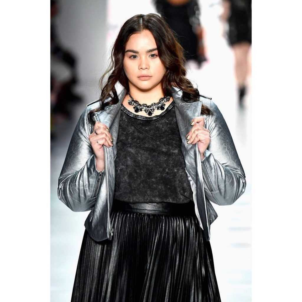 Filipina plus-size model struts at NY Fashion Week - The ...