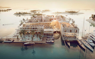 Dubai builds floating miniature replica of Venice