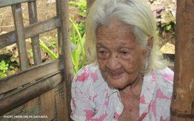 'Lola Iska' from Negros Occidental celebrates 120th birthday