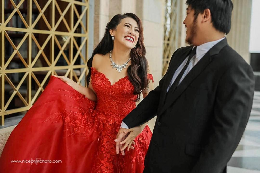 Look Ai Ai Delas Alas Is Lady In Red In Her Prenup Photo The