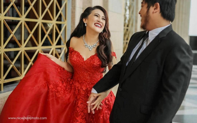 LOOK: Ai Ai delas Alas is 'lady in red' in her prenup photo