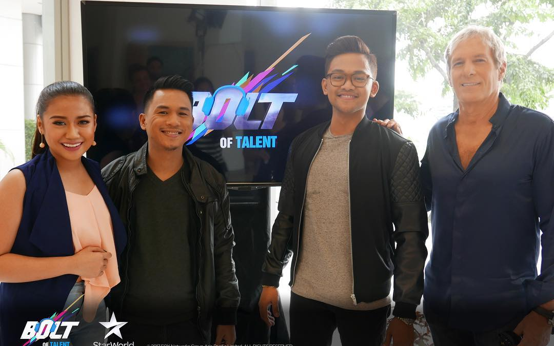 Filipino singer makes it to 'Bolt of Talent' finale